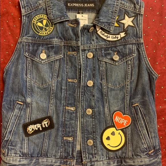 Express Jeans vest